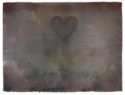Jim Dine, 'Emma Bovary (unique)', 1972