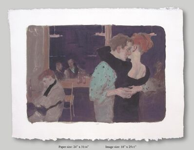 Malcolm T. Liepke, 'Dancers', 2001