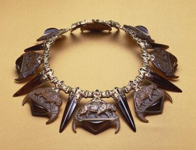 René Lalique, 'Tiger Necklace', ca. 1903