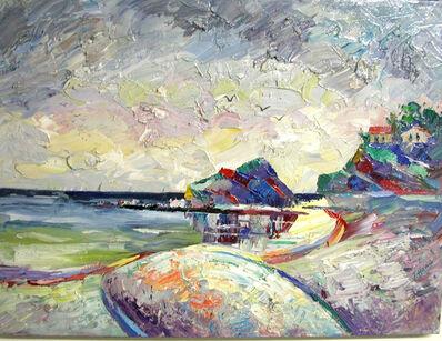 """Joseph Hawa, '""""Los Aliso Beach, Laguna Beach"""" ', 1999"""