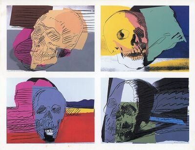 Andy Warhol, 'Brooke Alexander Gallery, Andy Warhol, Eight Portfolios, Folded Card ', 1990