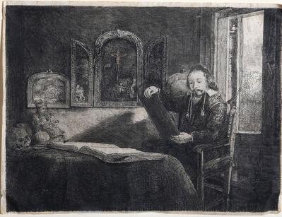 Rembrandt van Rijn, 'Abraham Francen, Apothecary', ca. 1657