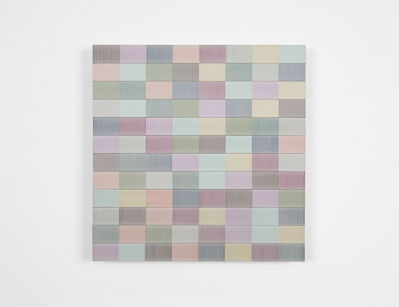 Brian Wills, 'Untitled (2 inch slats on wood)', 2019