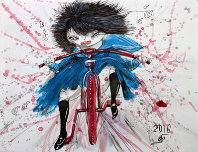 Hiroshi NAKAMURA, '少女騒乱 23', 2016