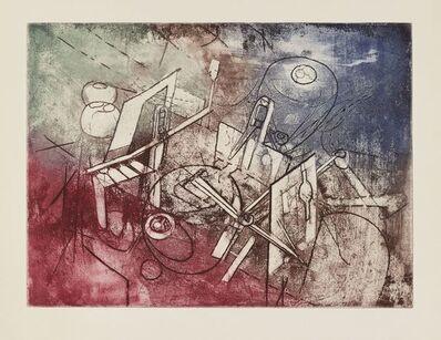 Roberto Matta, 'Come detta dentro vo significado [Sabatier 58]', 1965