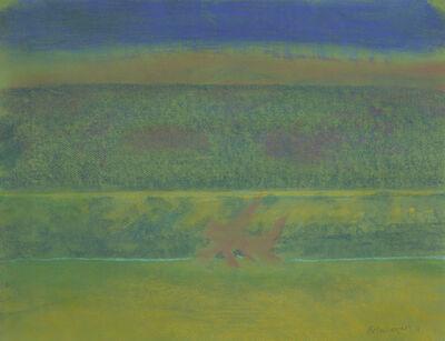 Richard Artschwager, 'Landscape with Purple Bushes', 2011