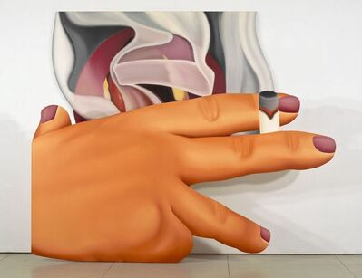 Tom Wesselmann, 'Smoker #23', 1976