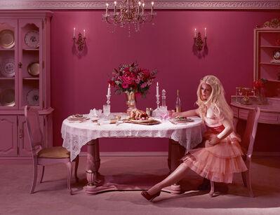Dina Goldstein, 'Dining Alone', 2011
