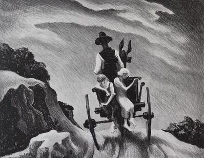 Thomas Hart Benton, 'Goin' Home', 1937