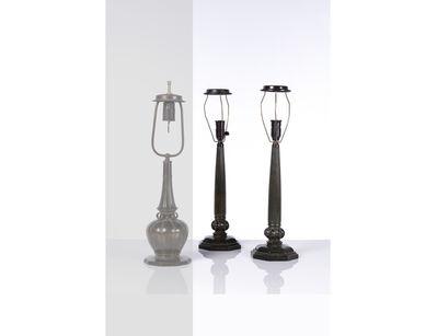 Just Andersen, 'Model Disko Pair of table lamps', vers 1940