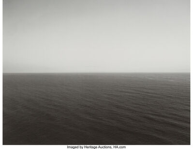 Hiroshi Sugimoto, 'Time Exposed #312 Pacific Ocean, Oregon, 1985 and # 325 Sea of Okhostk, Hokkaido, 1989 (two works)'