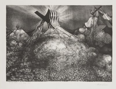 Theodore Roszak, 'Dump Heap USA', 1974
