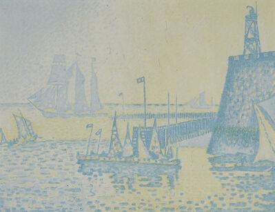 Paul Signac, 'Le Soir, Jetee De Flessingue (From Pan)', 1898