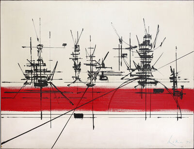Georges Mathieu, 'Luischaux', 1970
