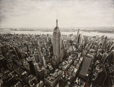 Valerio D'Ospina, 'Helicopter Ride Above NYC', 2018