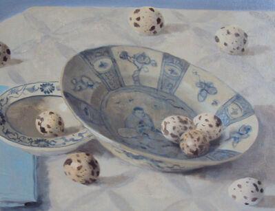 Olga Antonova, 'Eggs on plate', 2031