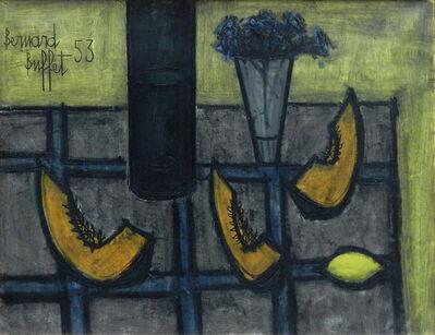 Bernard Buffet, 'Still life with melon and lemon', 1953