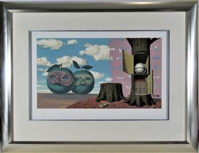 René Magritte, 'Il y a sur le Rivage de la Mer Deux Pommes Visiteuses, from Les Enfants Trouves.', 1953