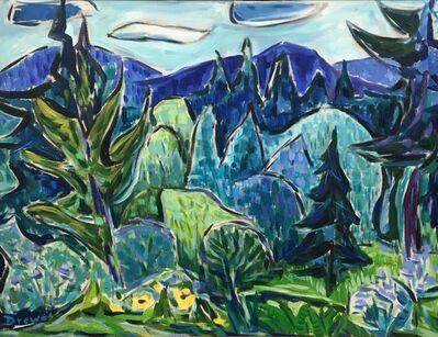 Werner Drewes, 'Vermont', 1957