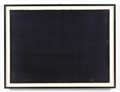 Bob Law, 'Black Watercolour 25.1.88', 1988