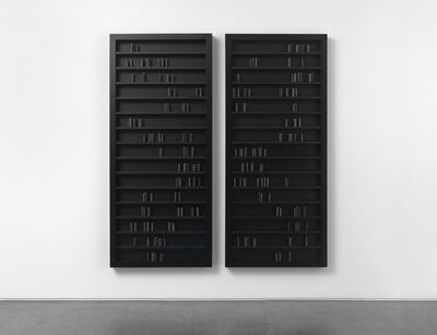 Edmund De Waal, 'black milk', 2015