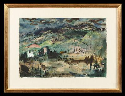 John Piper, 'Malvern Hills', 1940-1990