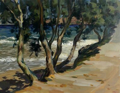 Janusz Szpyt, 'Trees in Kini', 2011