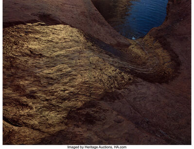 Eliot Porter, 'Waterslide from Above, Long Canyon', 1965-printed in 1980