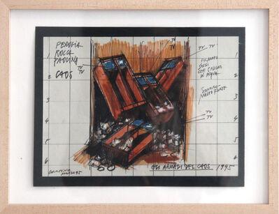 Fabrizio Plessi, 'Armadi del Chaos', 1995