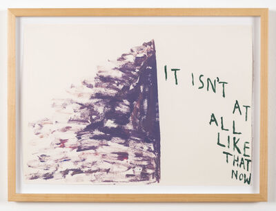 Chris Johanson, 'It Isn't At All Like That Now', 2013