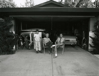 Bill Owens, 'Our house was built with the living room in back', 1971
