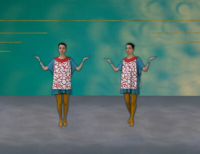 Molly Palmer, 'Two Friends and Two Curtains (dance sequence)', 2016