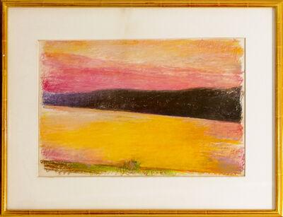 Wolf Kahn, 'Deep Red Sunset', 1991
