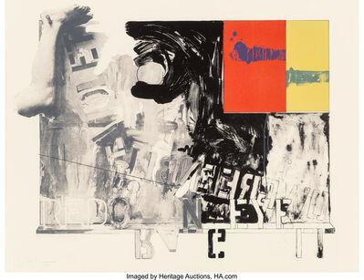Jasper Johns, 'Passage I', 1966