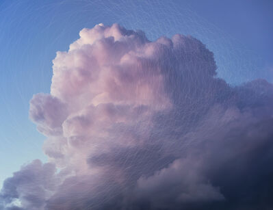 Trevor Paglen, 'CLOUD #246 Hough Circle Transform', 2019
