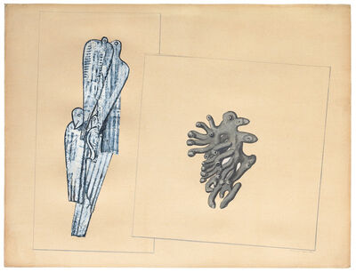 Max Ernst, 'Colombes et Corail (Oiseaux et Madrépore)', 1932