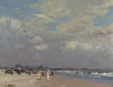 Edward Henry Potthast, 'Rockaway Beach', ca. 1910