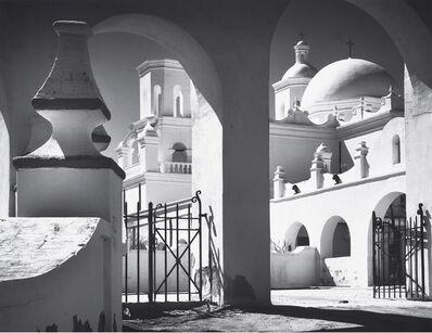Ansel Adams, 'Mission San Xavier del Bac, Tucson, Arizona', 1968