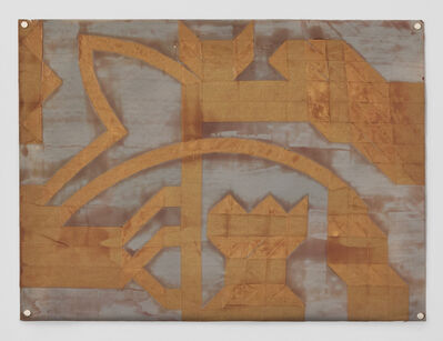 Steve Foust, 'Untitled (Folded Tape Releifs)', 1987