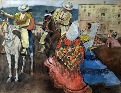 Ricardo Opisso Sala, 'Pilgrimage', 70's