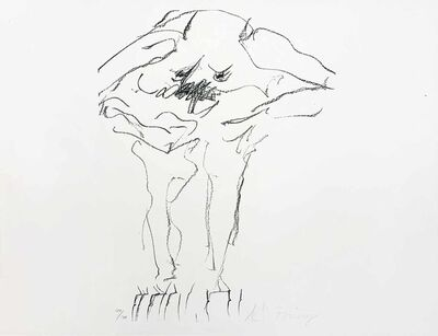 Willem de Kooning, 'Clam Digger from Portfolio 9', 1967