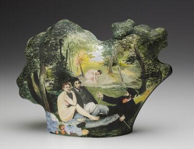 Kadri Pärnamets, 'Picnic | After Manet and Giorgione (Teapot)', 2014