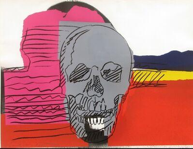 Andy Warhol, 'Skull', 1976