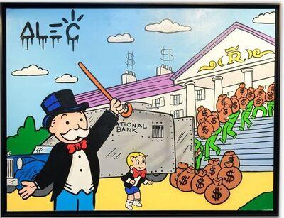Alec Monopoly, 'Monopoly Richie Loading Out Bank ', 2020