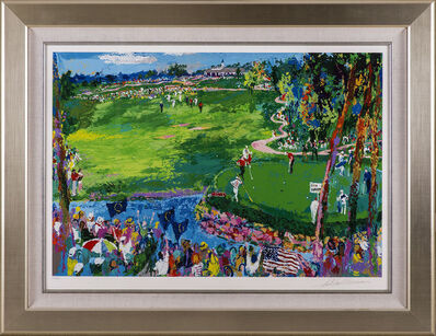 LeRoy Neiman, 'Ryder Cup Golf Limited Edition Signed Serigraph Scotty Circle T CT', 2007