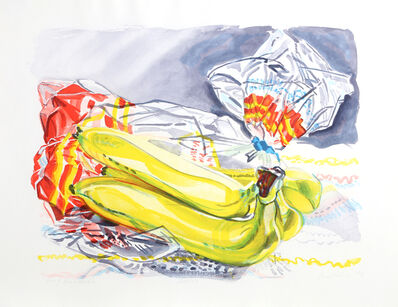 Janet Fish, 'Bag of Bananas', 1996