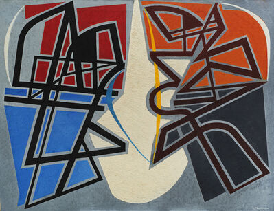 Enrico Prampolini, 'Composizione astratta'