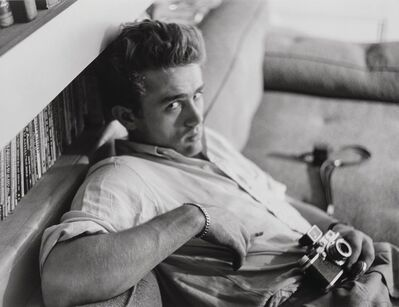 Roy Schatt, 'James Dean, Photography Lesson', 1954-printed later