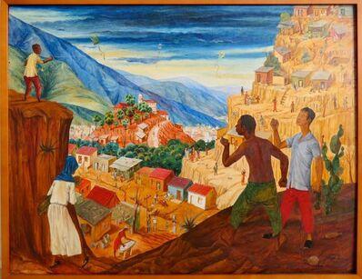 Carlos Cruz-Diez, 'El papagayo verde ( The Green Kite)', 1949