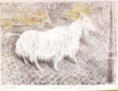 Pericle Fazzini, 'The Goat ', 1971